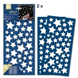 Sticker fosforescente Stars Home Decor Line