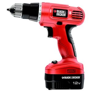 Trapano avvitatore 12V Black&Decker