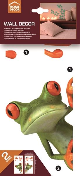 Sticker frog