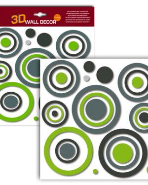 Sticker 3D in gomma espansa Home Decor Line