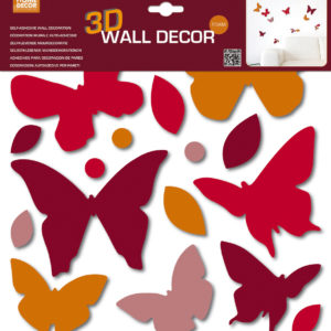 Decorazione murale 3D Farfalle Home Decor Line