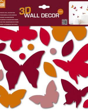 Decorazione murale 3D Farfalle Home Decor Line