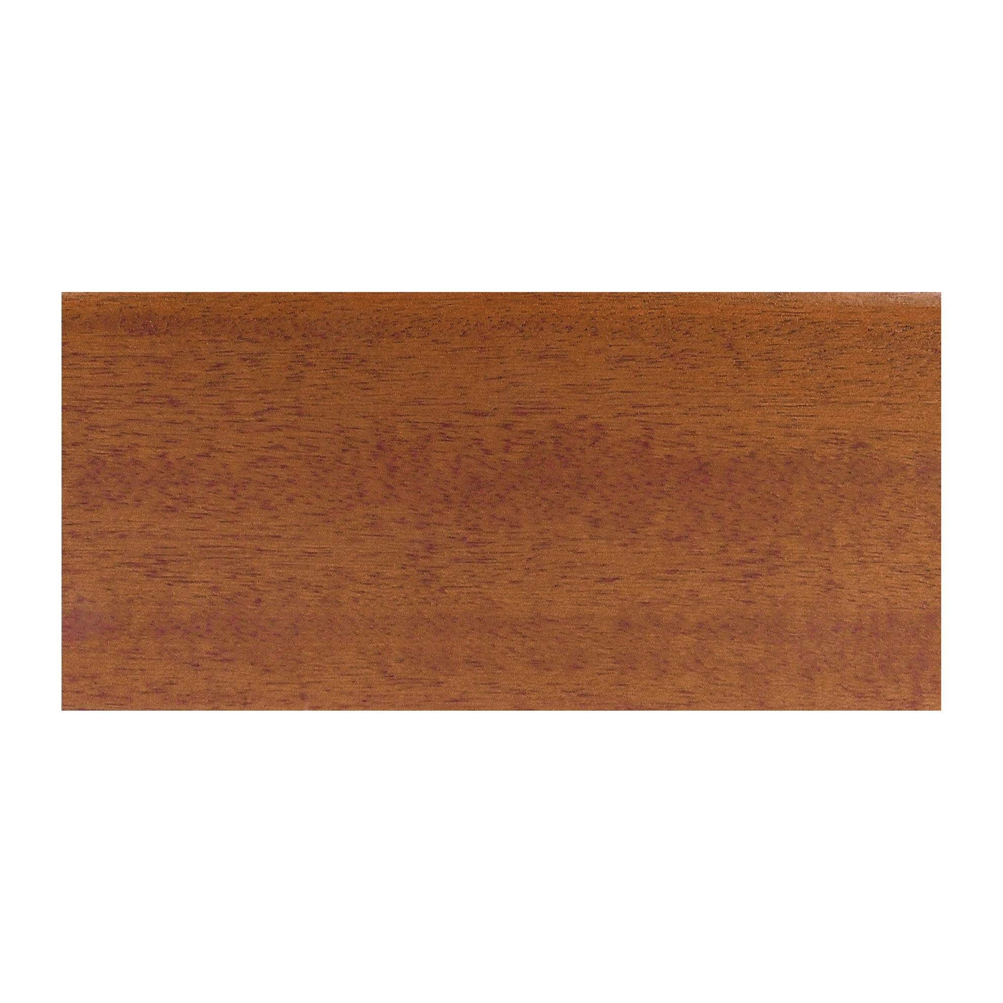 Battiscopa porro ugo impiallacciato in essenza tanganica for Battiscopa in legno leroy merlin