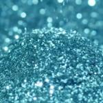glitter azzurro