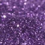 glitter viola