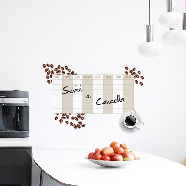 LAVAGNA ADESIVA COFFEE A