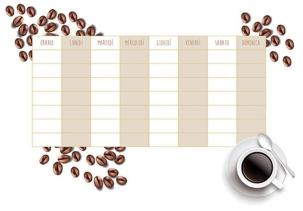 LAVAGNA ADESIVA COFFEE B