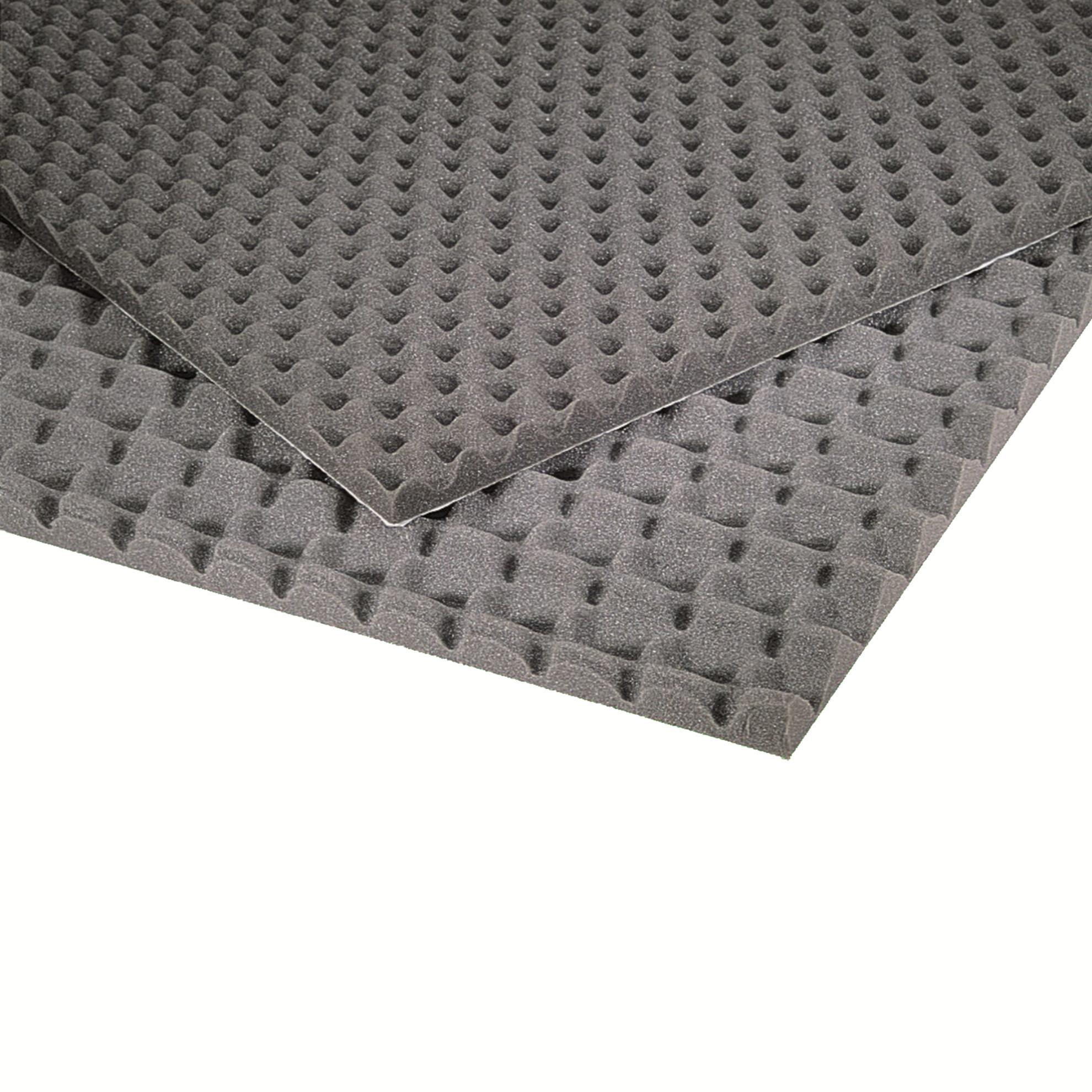 pannello fonoassorbente bugnato 1000x1000 mm spessore 30