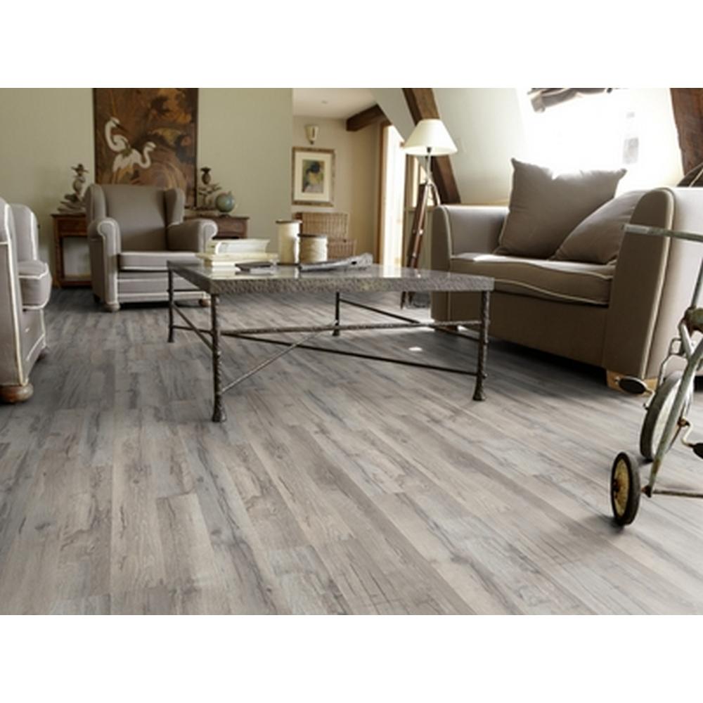 """Pittura Effetto Intonaco Invecchiato pavimento in laminato 8 mm essentials 832 """"rovere anticato"""