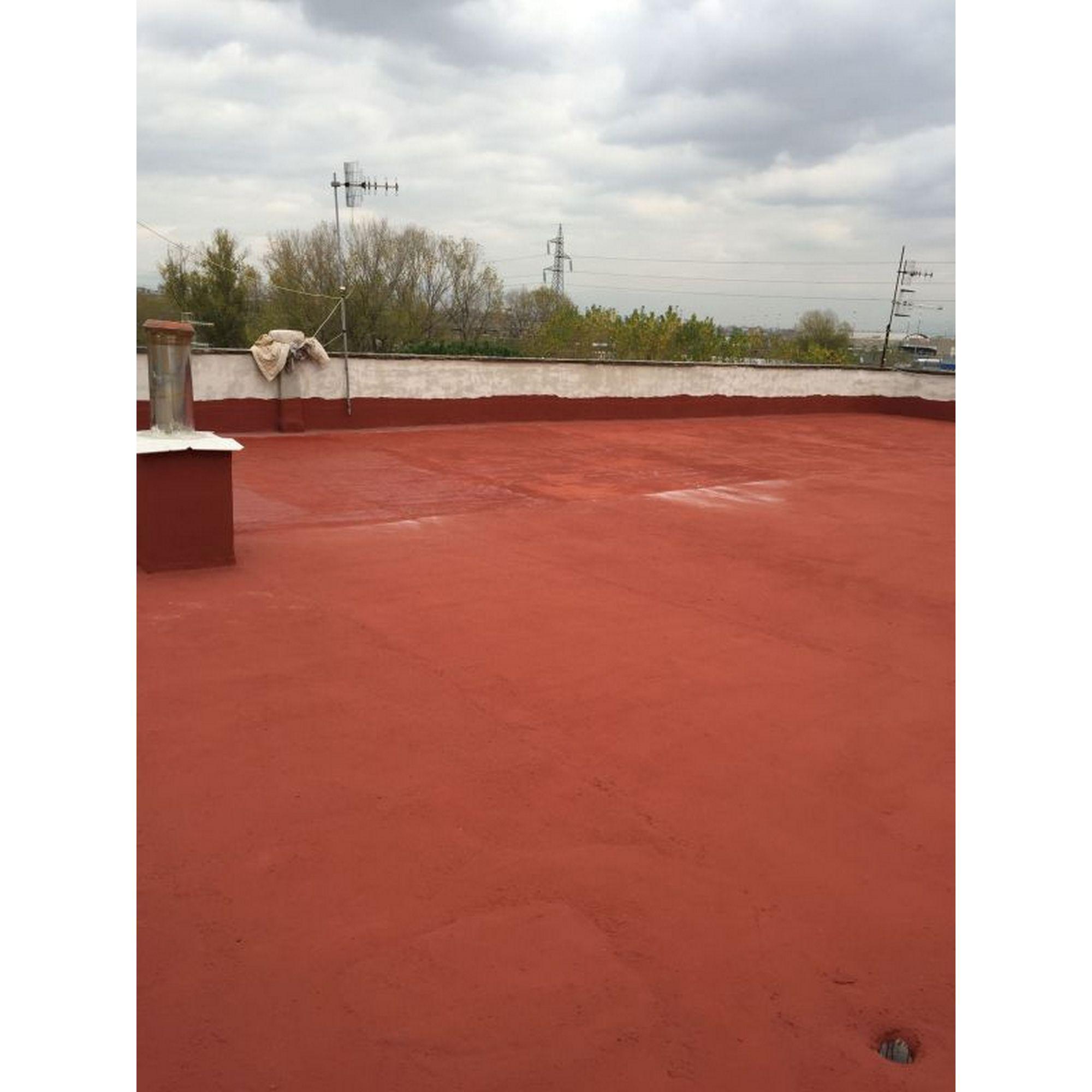 Guaina Liquida Impermeabile Rossa Da 2 5 L Callegari Vernici